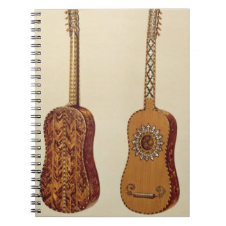 Rizzio Guitar, from 'Musical Instruments' (coloure Notebook