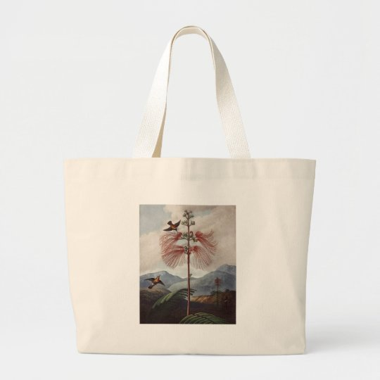 RJ Thornton - Flowering Sensitive Plant Large Tote Bag