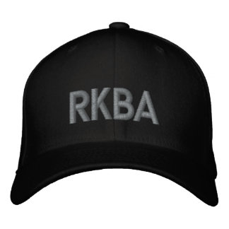 RKBA EMBROIDERED HAT