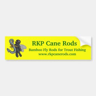 RKP Cane Rods Bumper Sticker.... Car Bumper Sticker