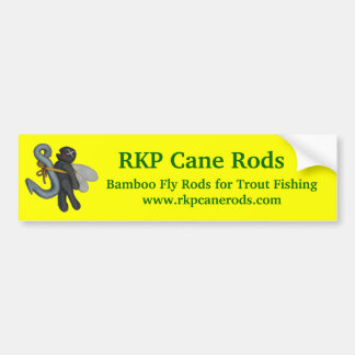 RKP Cane Rods Bumper Sticker.... Bumper Sticker