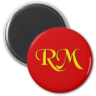 RM Return Missionary 6 Cm Round Magnet