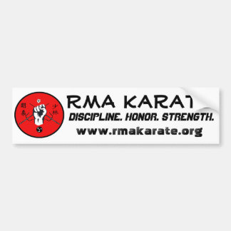 RMA Karate Bumper Sticker