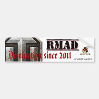 RMAD bumper sticker
