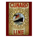 RMS Berengaria Cunard Line Vintage Luxury Liner Postcard