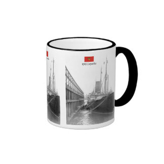 RMS Carpathia Ringer Mug