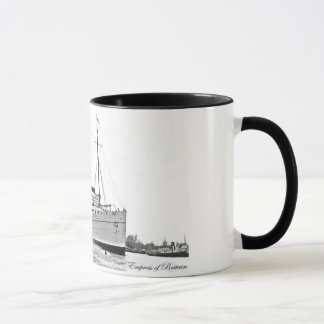 RMS Empress of Britain Mug