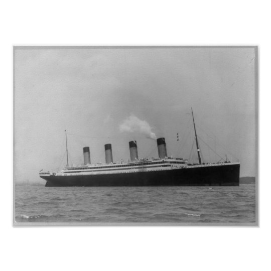 RMS OLYMPIC - Maiden Voyage Titanic Sister Ship