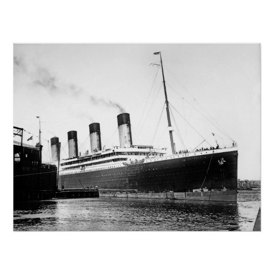 RMS Olympic Poster