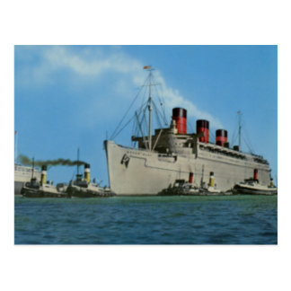 RMS Queen Mary Collection Postcard