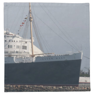 RMS Queen Mary Hotel and Museum in Long Beach Napkin