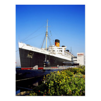 RMS Queen Mary Postcards