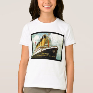 RMS Titanic 100th Anniversary girls T T-Shirt