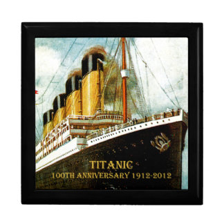 RMS Titanic 100th Anniversary Large Square Gift Box