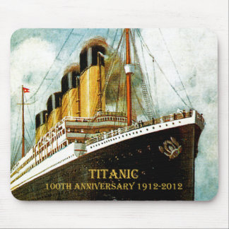 RMS Titanic 100th Anniversary Mouse Mat