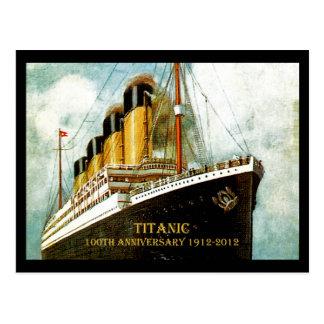 RMS Titanic 100th Anniversary Postcard