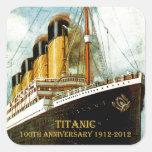 RMS Titanic 100th Anniversary Stickers
