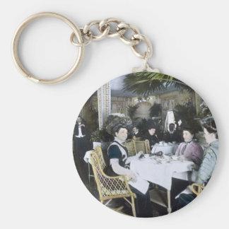 RMS Titanic 1st Class Passengers Enjoy Luxury Keychains