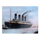 RMS Titanic Belfast Ireland Vintage Postcard