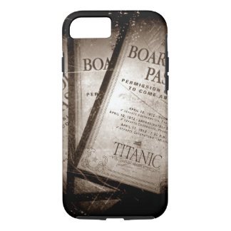 RMS Titanic Boarding Passes iPhone 7 Case