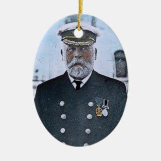 RMS Titanic Captain Edward J. Smith Christmas Ornament