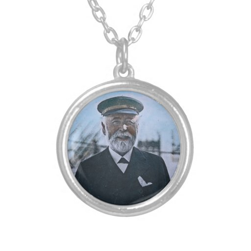 RMS Titanic Captain Edward Smith Vintage Custom Necklace