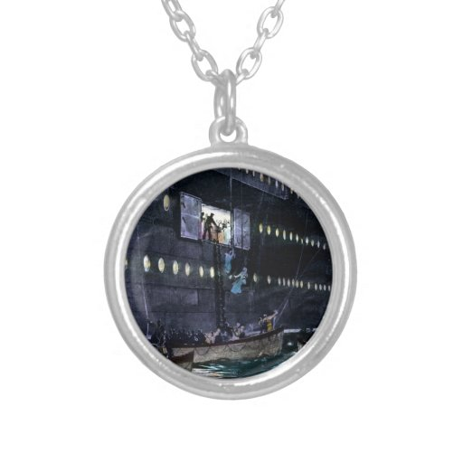 RMS Titanic Escape to the Lifeboats Quickly! Necklaces