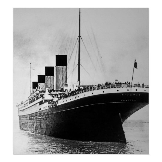 RMS Titanic Outbound Poster