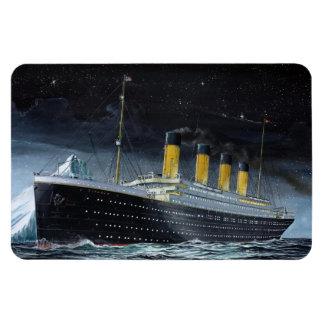 RMS Titanic Rectangular Photo Magnet