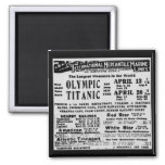 RMS TITANIC Steam Ship Commemorative Magnet