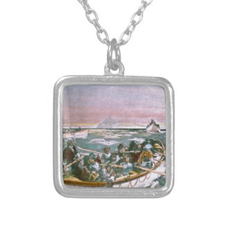 RMS Titanic Survivors in Lifeboats Next Morning Pendant