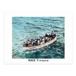 RMS Titanic Survivors in Lifeboats Vintage