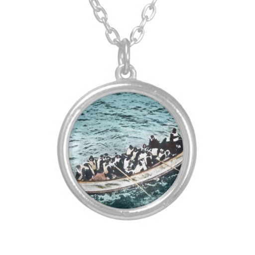 RMS Titanic Survivors in Lifeboats Vintage Jewelry