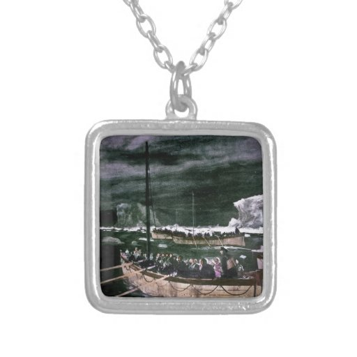 RMS Titanic Survivors in the Lifeboats Vintage Pendants
