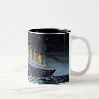 RMS Titanic Two-Tone Mug