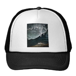 RMS Titanic Under the Sea and Icebergs Vintage Trucker Hats