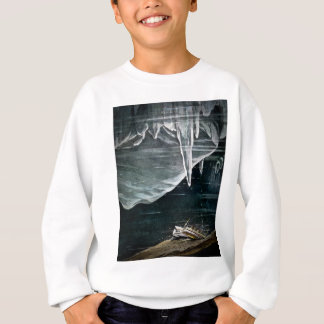 RMS Titanic Under the Sea and Icebergs Vintage Sweatshirt