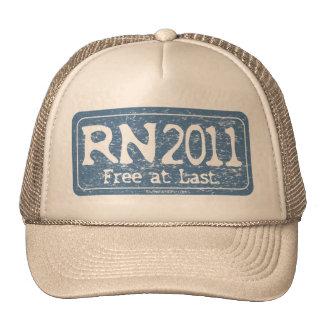 RN 2011 - Free at Last Trucker Hat