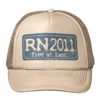 RN 2011 - Free at Last Mesh Hats