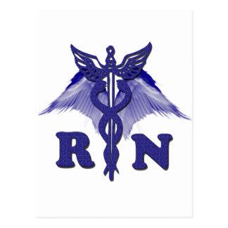 RN Angel Postcard
