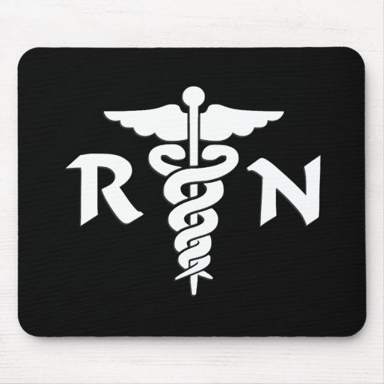 RN Medical Symbol Mouse Mat