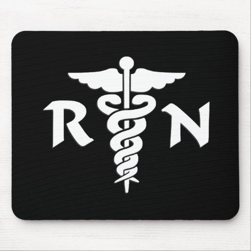 RN Medical Symbol Mouse Mats