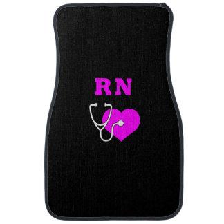 RN Nurses Care Floor Mat