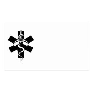 RN Nurses Pack Of Standard Business Cards