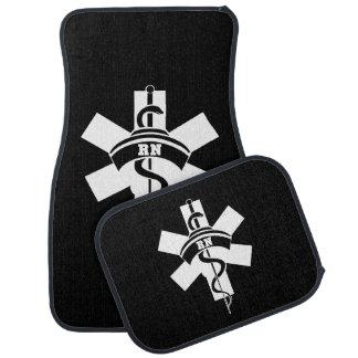RN Nurses Car Mat