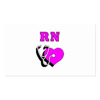 RN Nursing Care Business Cards