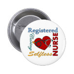 RN - Registered Nurse 6 Cm Round Badge
