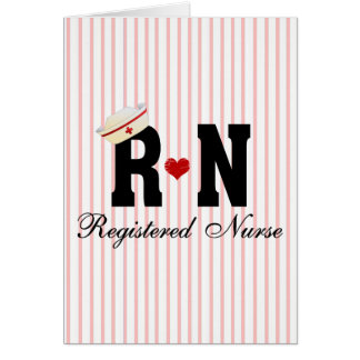 RN Registered Nurse Card