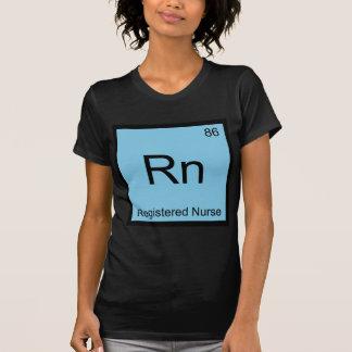 Rn - Registered Nurse Chemistry Element Symbol Tee