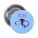 RN Stethoscope Badges